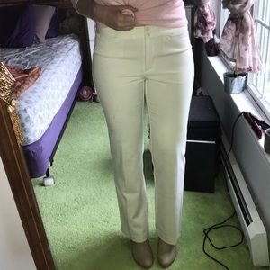 Talbots Signature winter white dress pants
